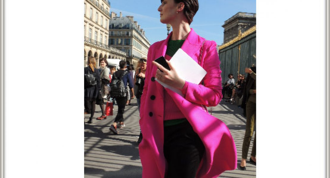Paris Fashion Week P/É 2015 : Erin O'Connor