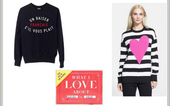 "Shopping Saint Valentin + Playlist ""love"""