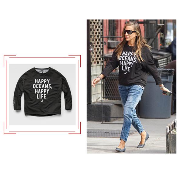 Vu sur Sarah Jessica Parker- G-Star RAW - Jeans & Stilettos