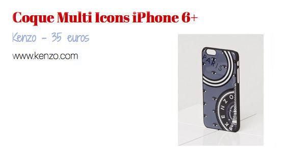 coque multi icons iPhone 6+ - kenzo - Jeans & stilettos