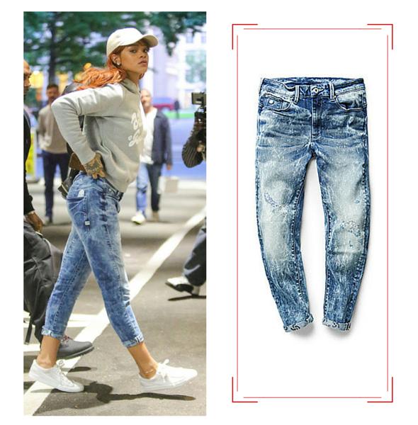 Vu sur Rihanna... GSTAR-RAW- Jeans & Stilettos