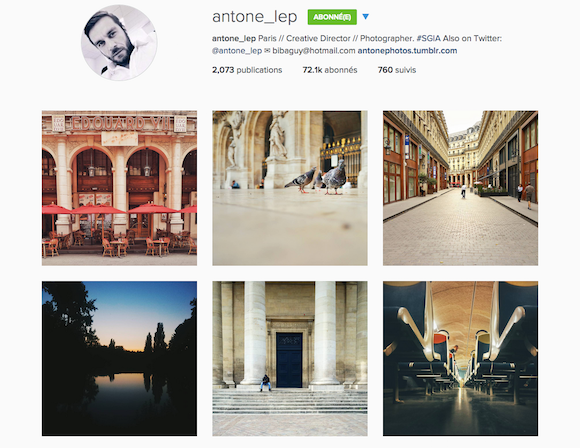 Antoine Lepinay - Compte Instagram - Jeans & Stilettos