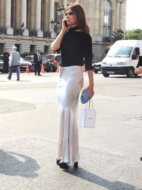 Carine Roitfeld - Paris haute COuture a/H 2015- 2016 - Jeans & Stilettos