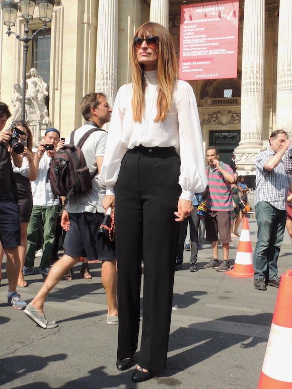 Caroline de Maigret - Paris haute COuture a/H 2015- 2016 - Jeans & Stilettos