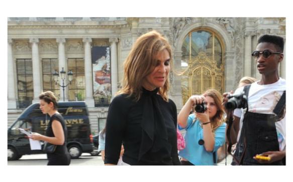 Paris Haute Couture A/H 2015-2016 : Carine Roitfeld