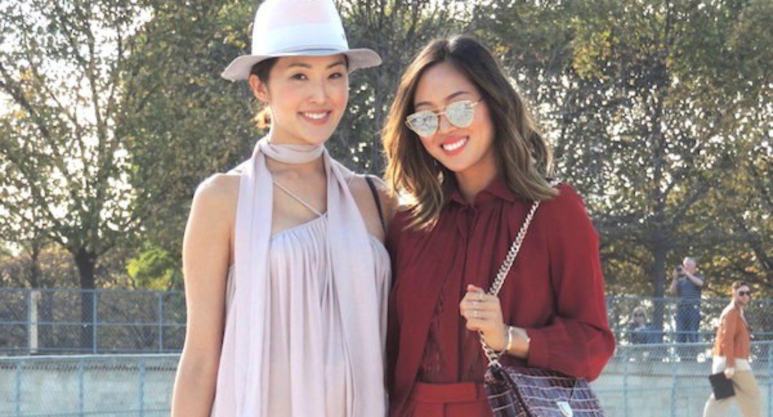 Paris Fashion Week P/É 2016: Chriselle Lim et Aimee Song