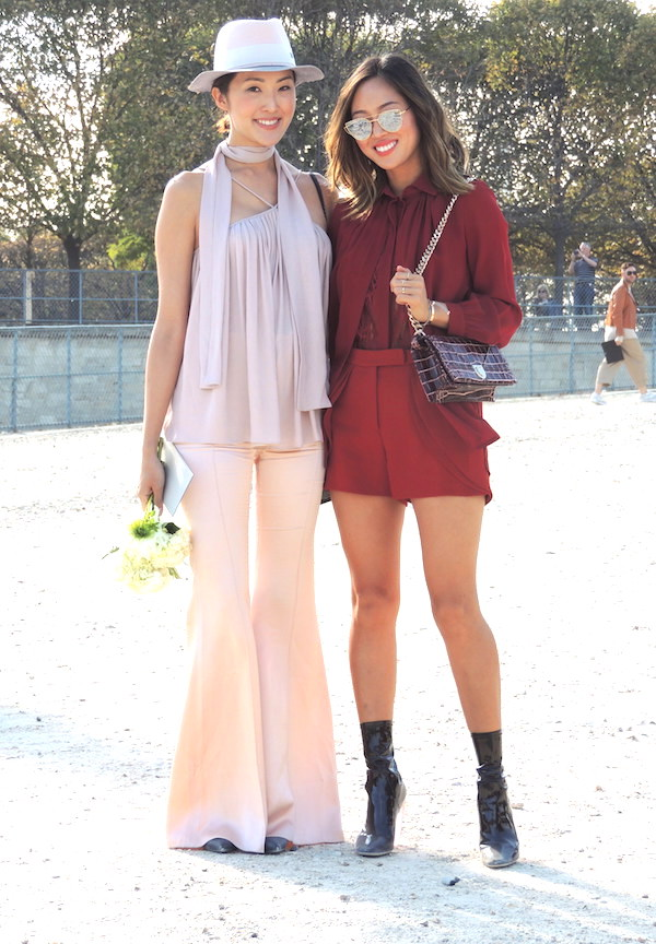 StreetStyle-Chriselle Lim-Song Of Style-Paris Fashion Week-fashion blog-Jeans et Stilettos