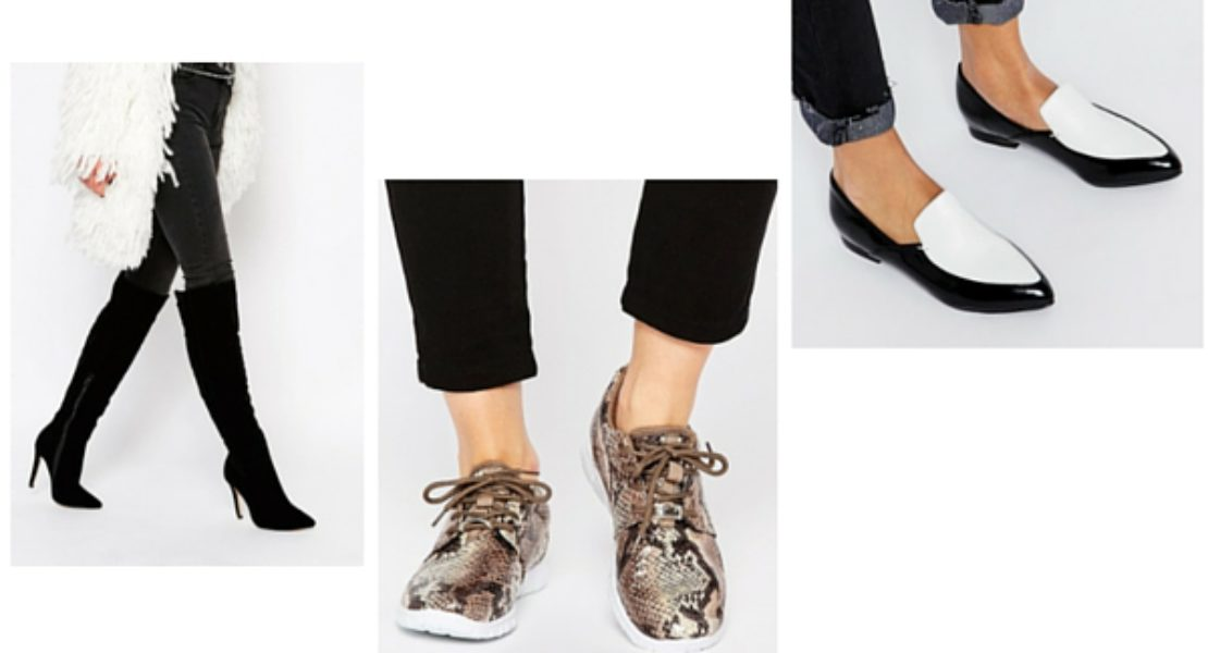 Sélection de chaussures soldées chez ASOS