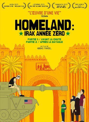 Affiche- Homeland-Irak Année Zéro