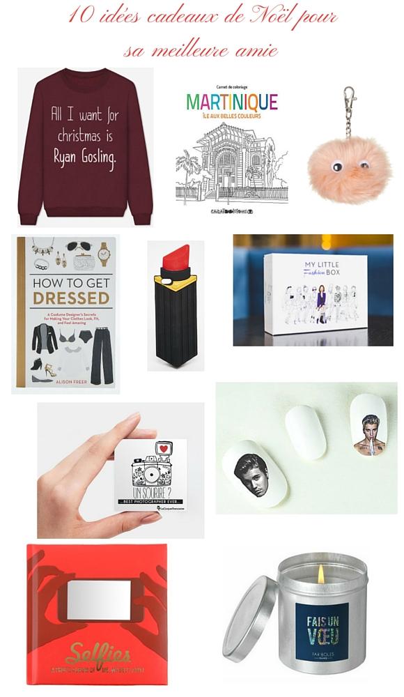 Guide Noël 2015 : dées de cadeaux à offrir à sa meilleure amie