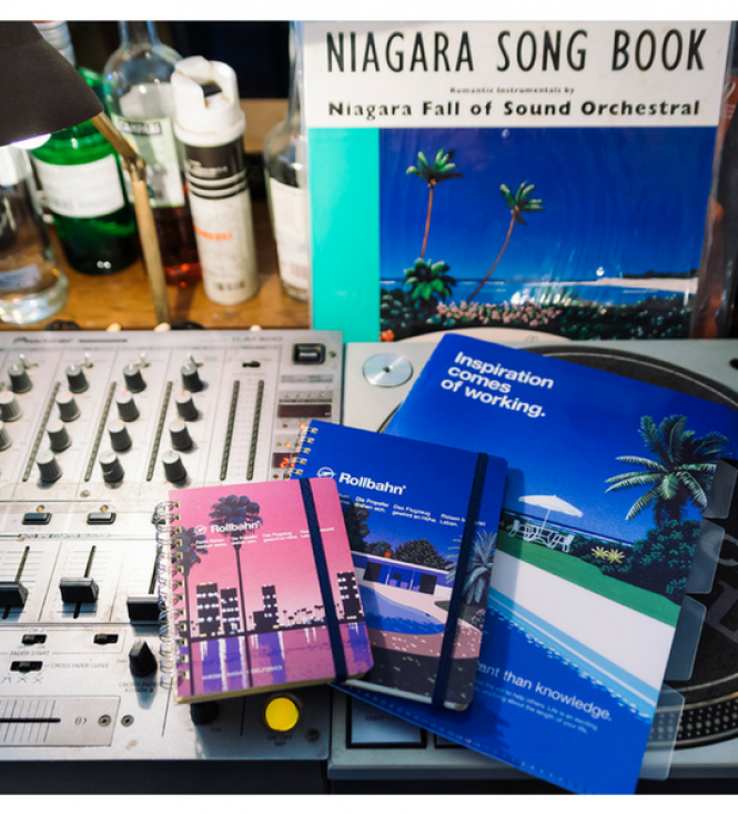 Delfonics x Hiroshi NAGAI : La Cool Collab De La Papeterie