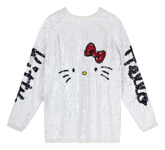 Hello Kitty X ASOS - haut à paillettes