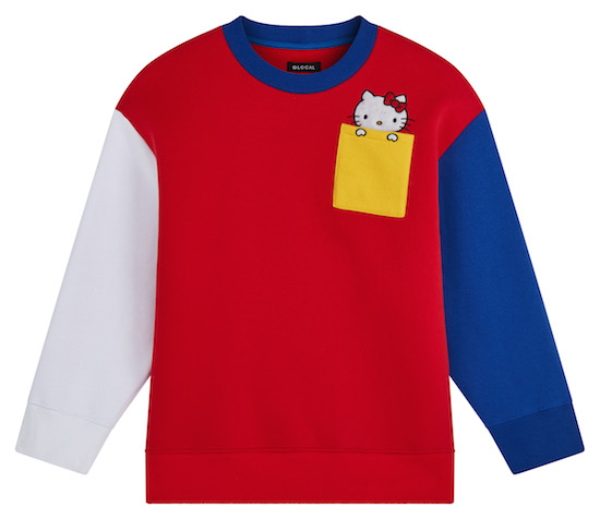 ASOS x Hello Kitty_sweatshirt_colorblock