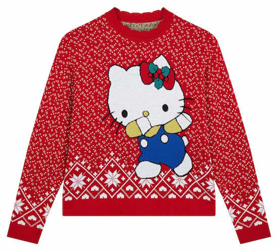 Hello Kitty X ASOS_Pull de Noël