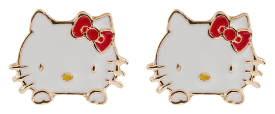 ASOS x Hello Kitty - Boucles d'oreille