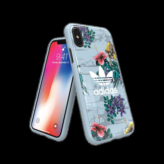 Coque Adidas Originals imprimé Floral pour iPhone