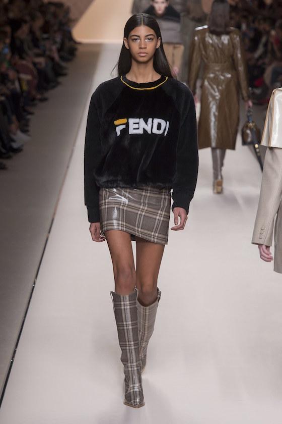 FENDI Fashion Show - Semana de la Moda de Milán O / I 2018 2019