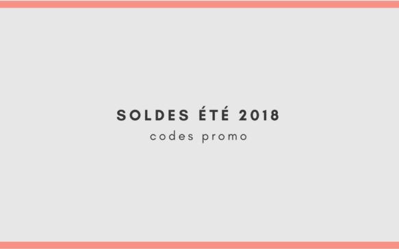 Soldes Été 2018 : Codes promo MODE