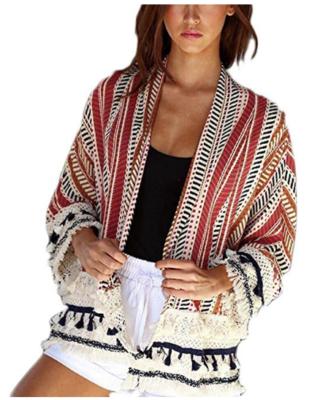 Veste d'été style Kimono avec broderie_Jeans & Stilettos