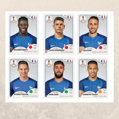 Six Nouveaux Joueurs Rejoignent Les Bleus Chez Panini