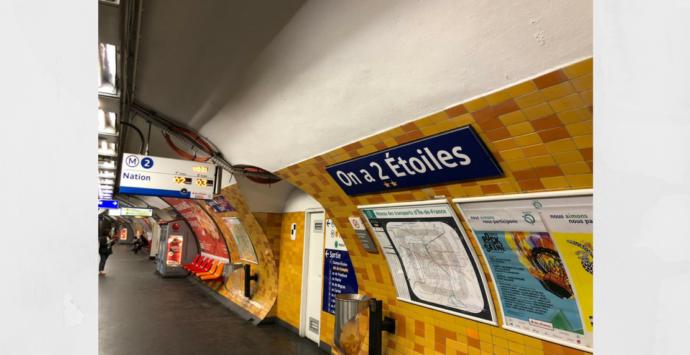 La RATP Célèbre La Victoire Des Bleus